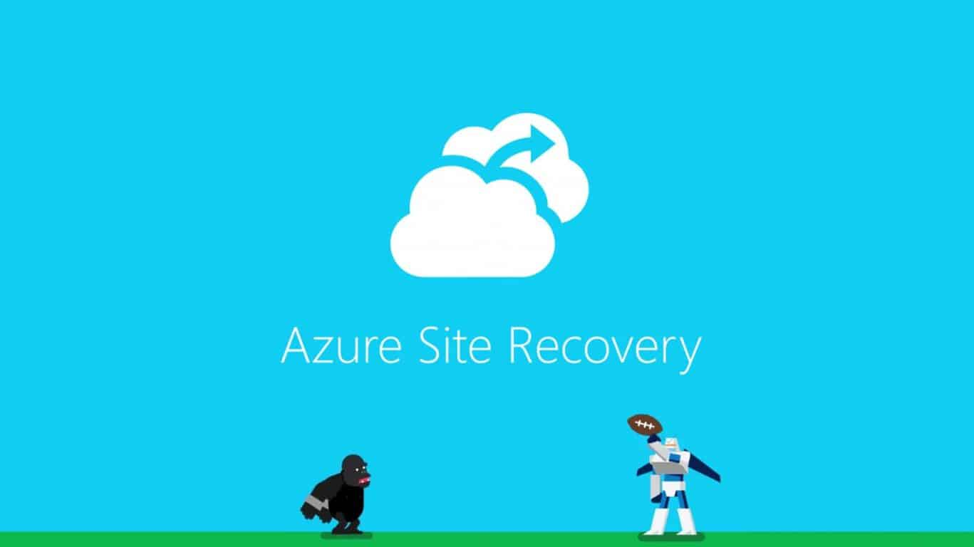 Microsoft, Azure, Site Recovery