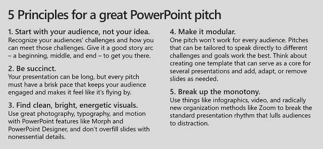 Become better at pitching ideas with these PowerPoint tips from Galvanized Media CEO Jon Hammond OnMSFT.com December 22, 2016