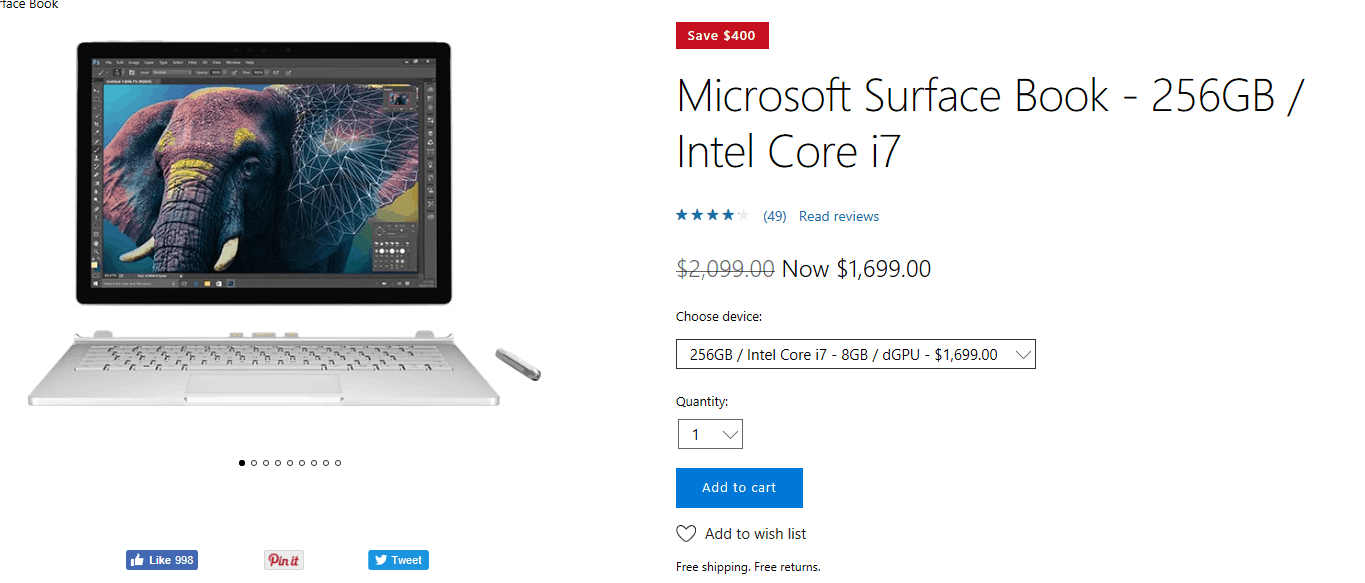 Act fast and get up to $400 off on a surface book - onmsft. Com - december 14, 2016