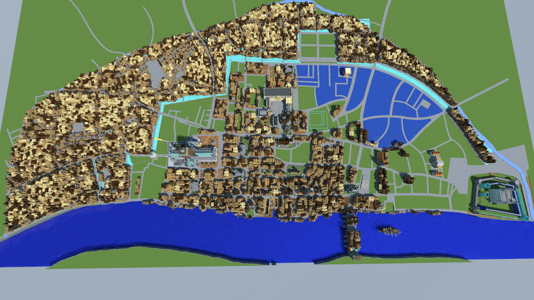 Minecraft solutions Blockworks uses coding to build Great Fire of London replica OnMSFT.com December 22, 2016