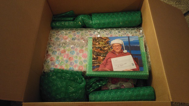 Bill gates was a secret santa to another redditor, gives them an xbox one s, and more - onmsft. Com - december 19, 2016