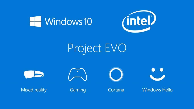 Microsoft and Intel's Project Evo