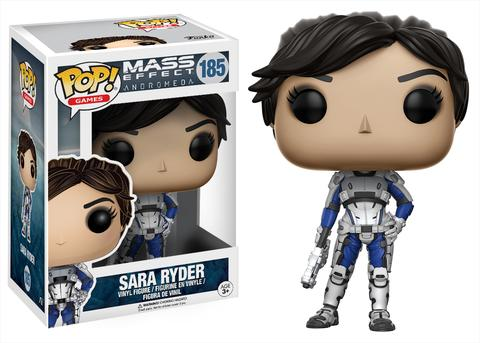 Mass Effect Sara Ryder Funk Pop figure