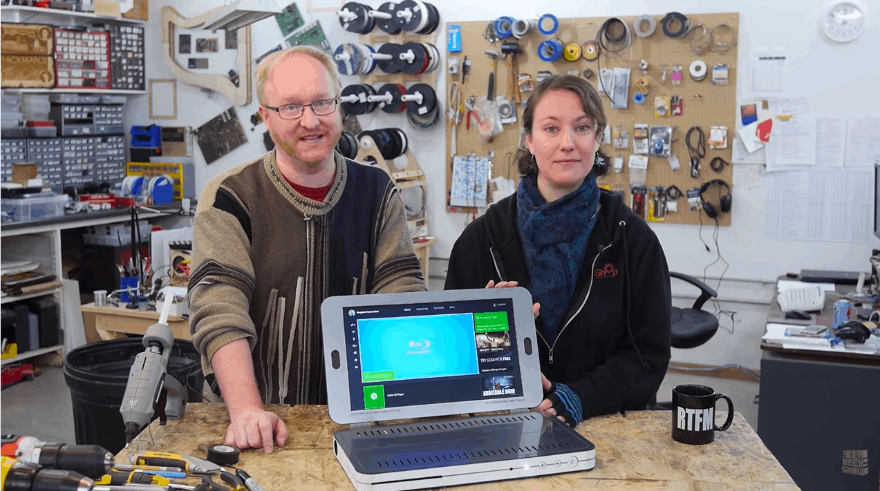 Ben Heck Xbox One S laptop