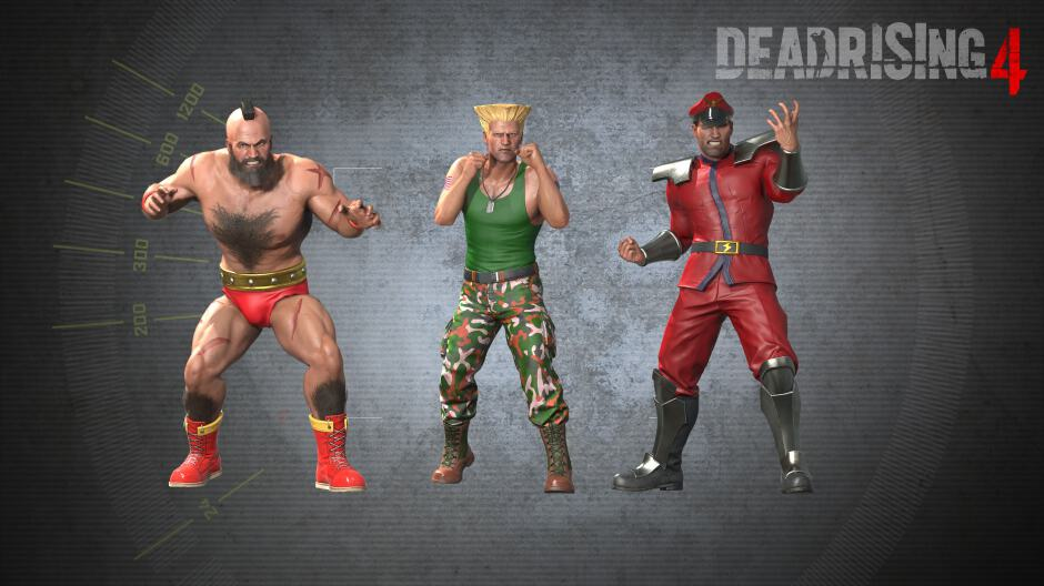 Dead Rising 4 Street Fighter