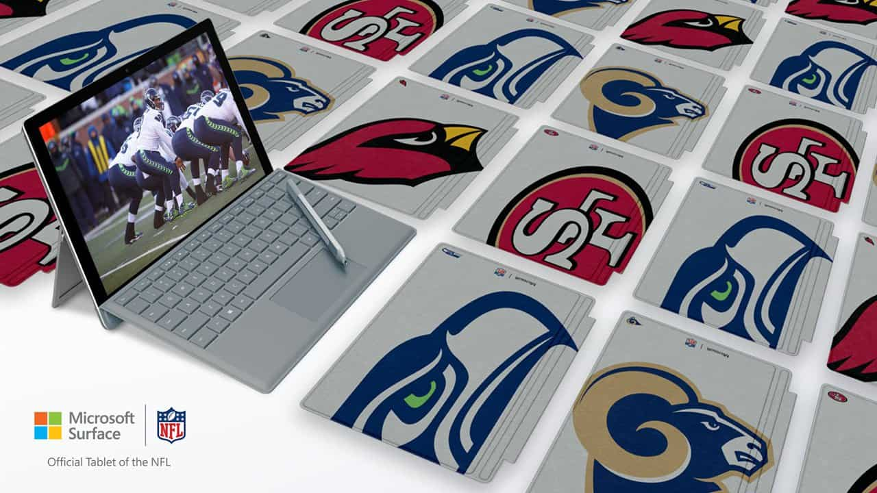 Microsoft Surface Type Cover NFL