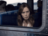 The girl on a train, windows store, movies, emily blunt