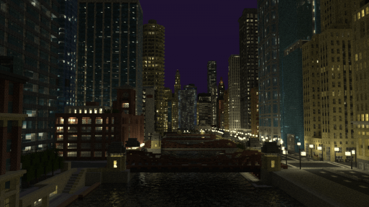 Check out this minecraft model an 18 year old built of downtown chicago, and download it yourself - onmsft. Com - february 17, 2017