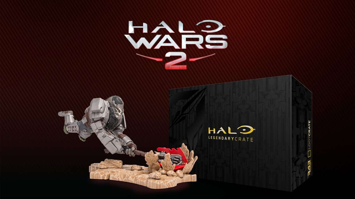Halo Wars 2 crate