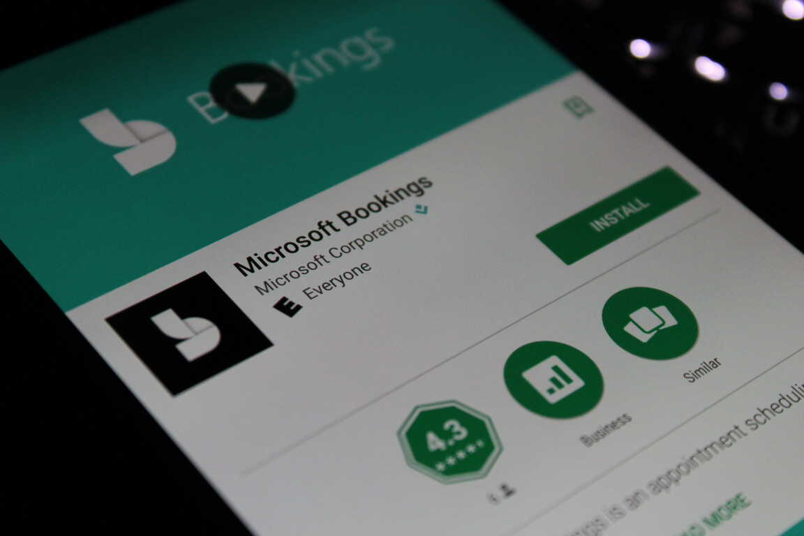 Microsoft Bookings Android