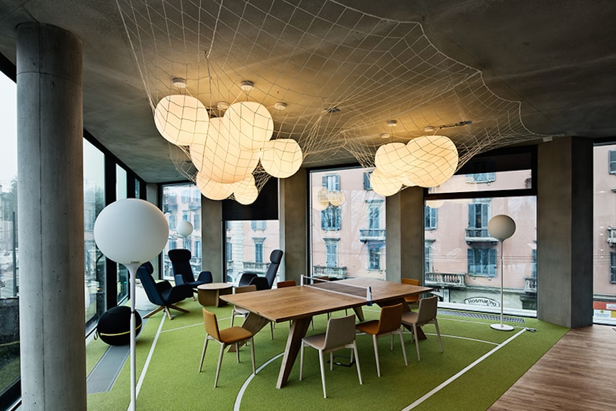 Check out these beautiful interior spaces from the new for Interior design office milan