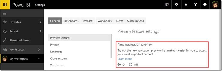 Power bi update makes it easier to jump between related dashboards - onmsft. Com - march 30, 2017