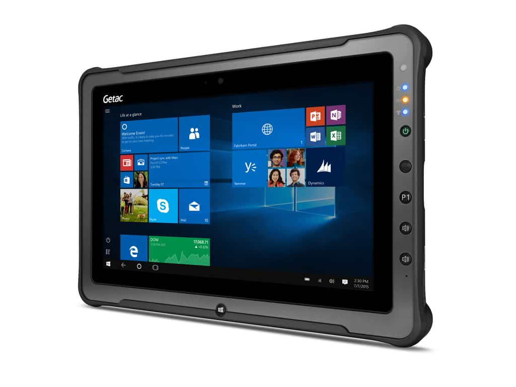 Getac F110 G3 rugged tablet