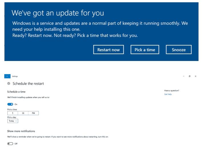Windows Update Creators Update