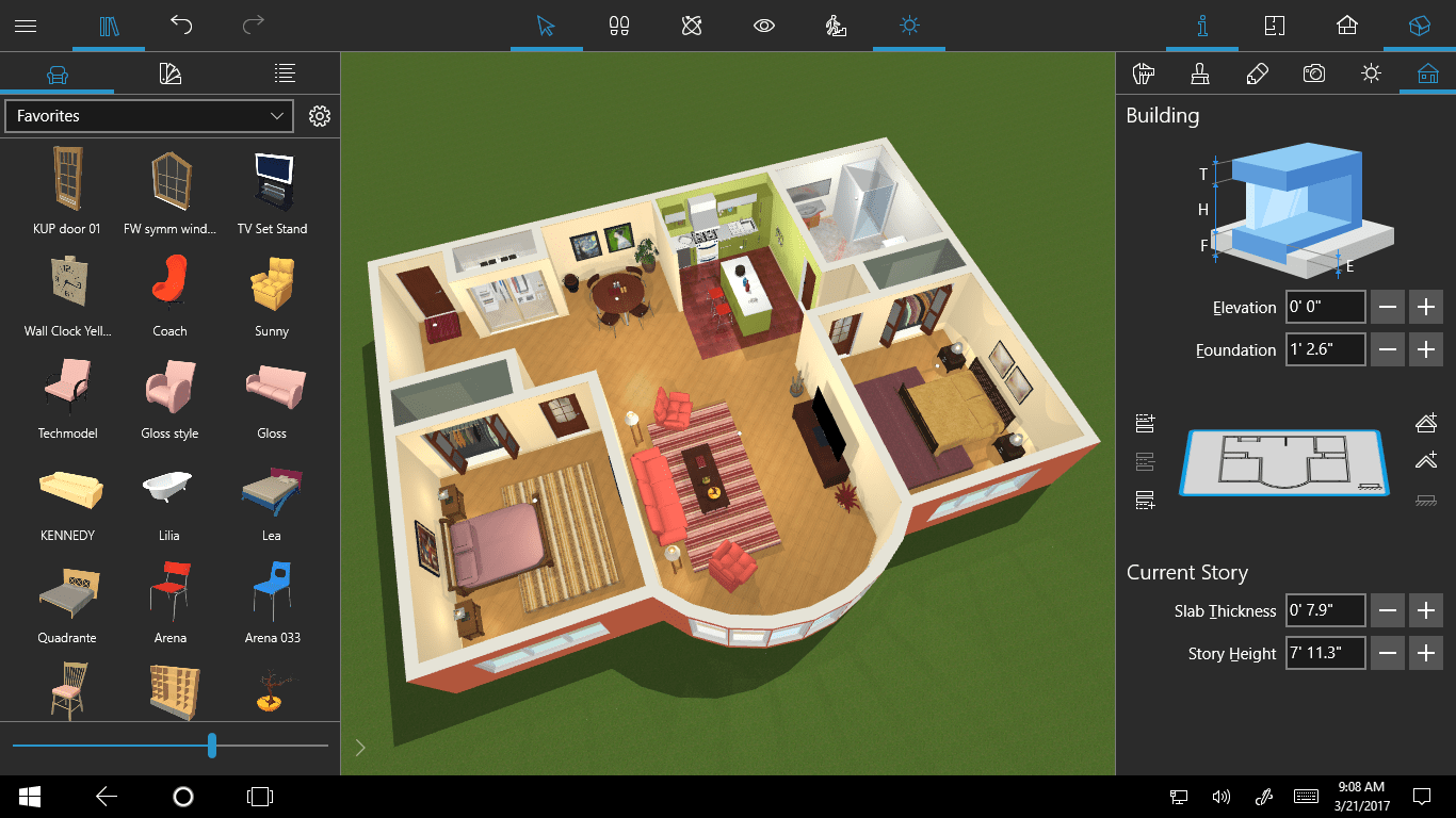 Design Your Home In 3d Live Home 3d For Windows 10 Onmsft Com