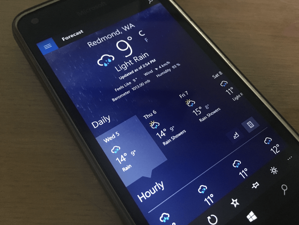Modern Windows Weather App – Dibujos Para Colorear