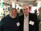 At allen's living computer museum, paul allen and steve wozniak meet for very first time - onmsft. Com - april 13, 2017