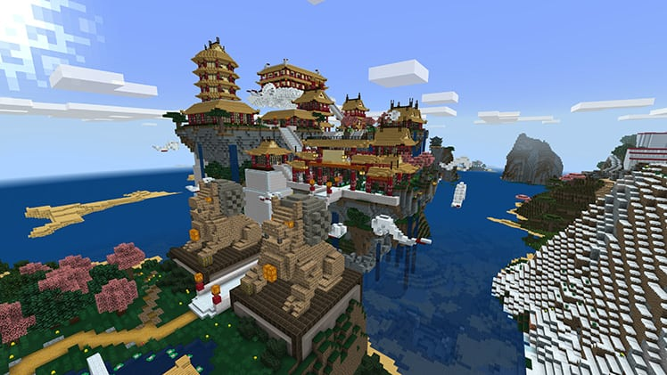 Minecraft is releasing the chinese mythology mash-up pack with new pocket, windows 10 update - onmsft. Com - april 11, 2017