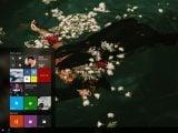 "Windows 10 ""Project NEON"" image leaks showing transparent start menu OnMSFT.com April 5, 2017"