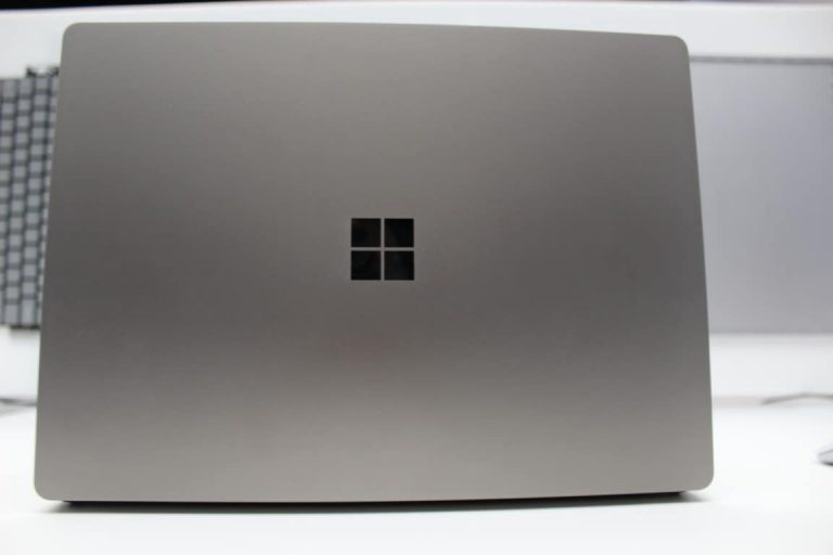Back of Surface Laptop