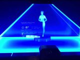 Cortana hologram