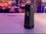 Harman Kardon's Cortana speaker Image from Sam Byford/The Verge