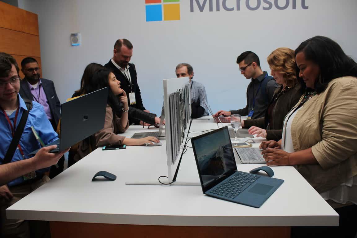 Surface Laptop Showroom Floor