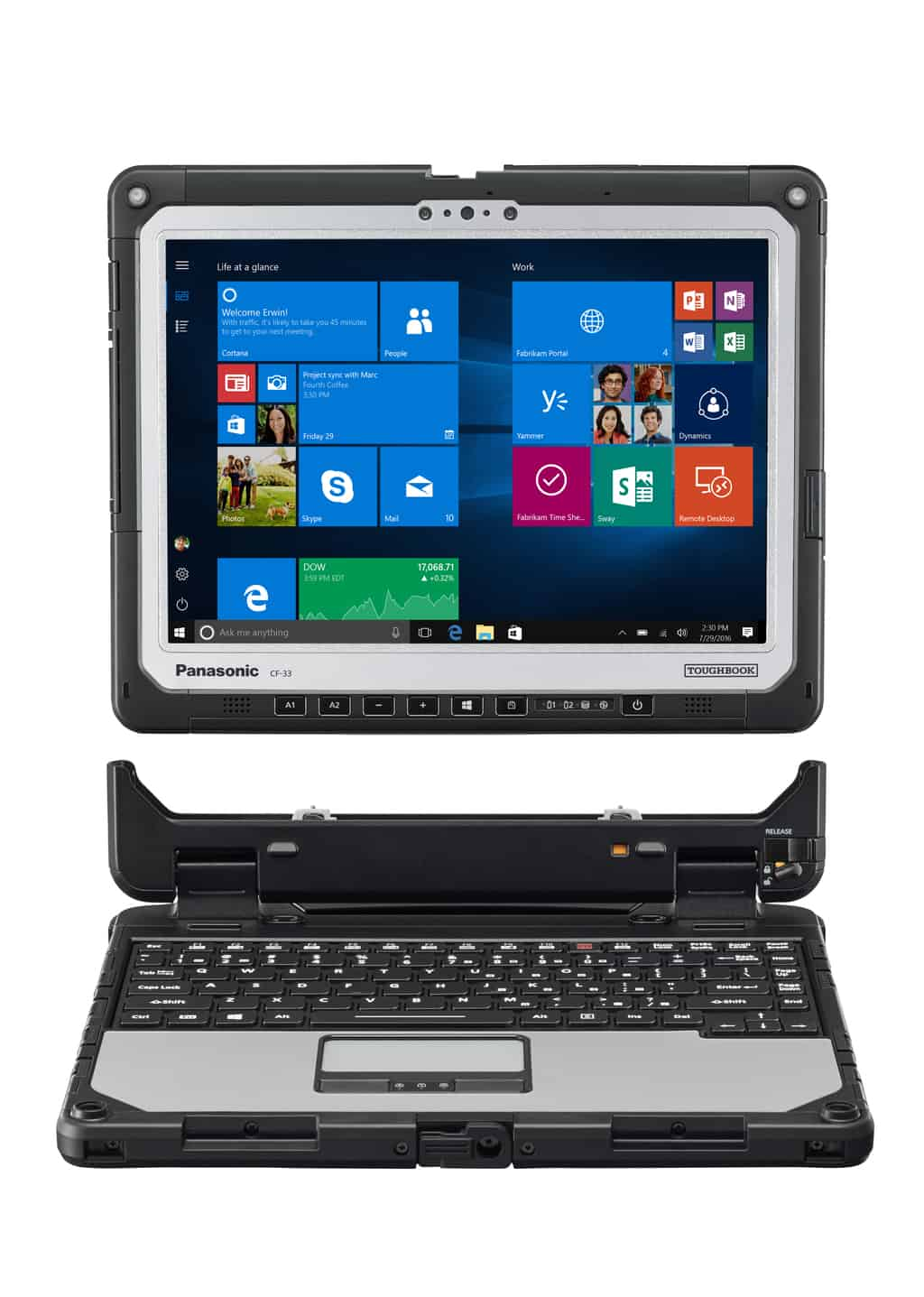 Panasonic can help you take windows 10 to the extreme with the new toughbook 33 - onmsft. Com - may 23, 2017