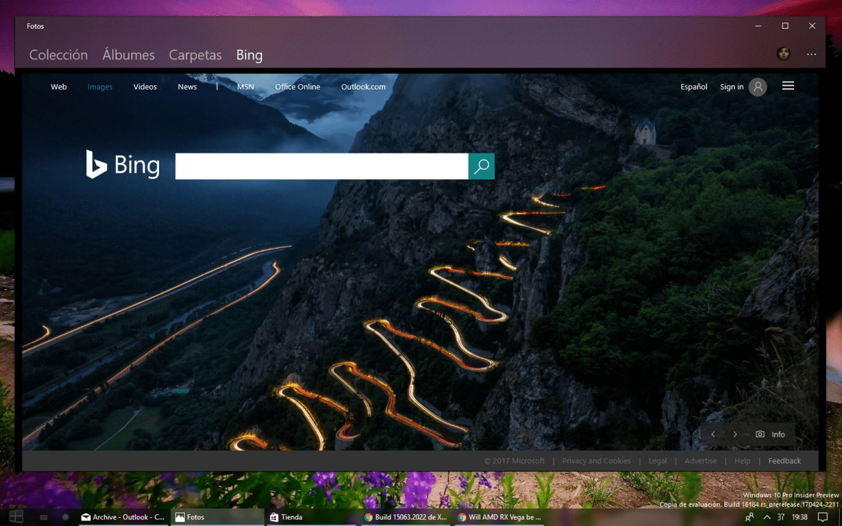 Project neon comes to the windows 10 photos app with for Latest microsoft windows