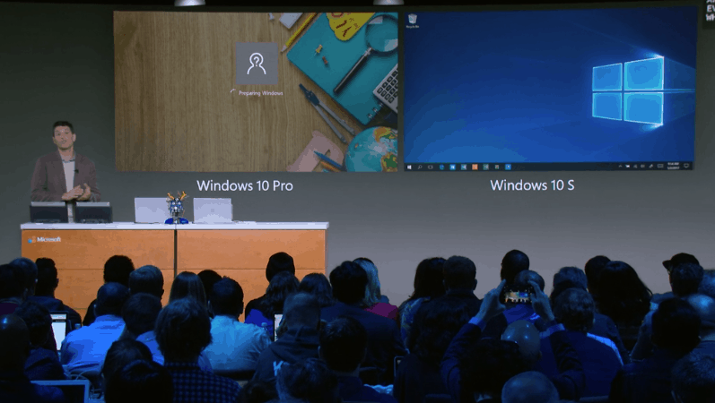 Microsoft introduces windows 10 s - onmsft. Com - may 2, 2017