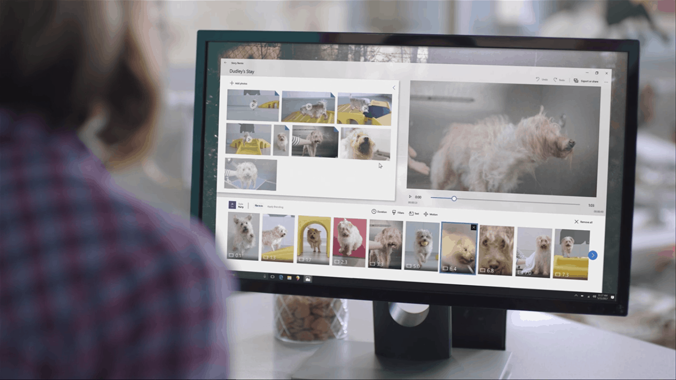 The windows team comes full circle: 'story remix' is out, 'photos' is back - onmsft. Com - august 22, 2017