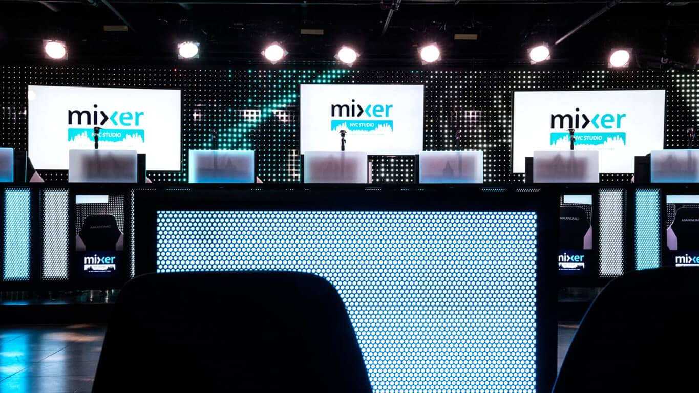 Mixer Studio at Microsoft Store