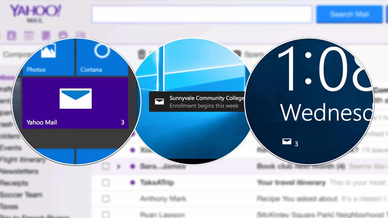 Yahoo Mail Windows 10 App