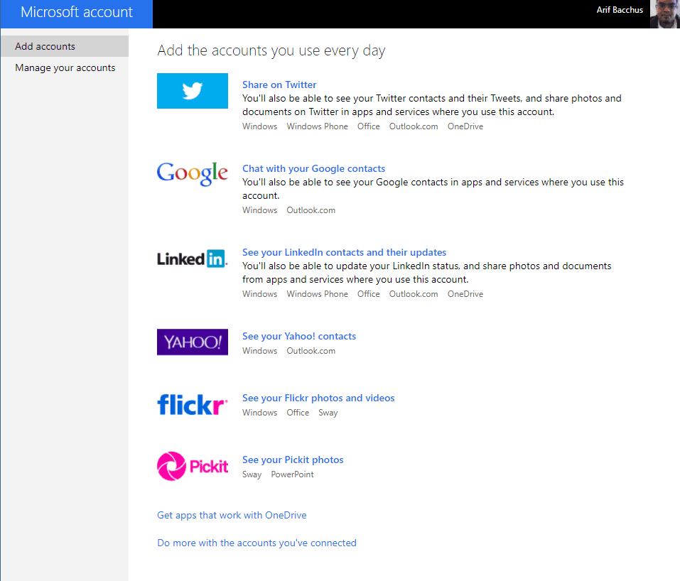 Google, linkedin or yahoo connections will no longer sync with your microsoft and skype account - onmsft. Com - june 23, 2017