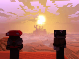 Check out minecraft with the super duper graphics pack dlc sneak peek on xbox one/windows 10 - onmsft. Com - june 15, 2017