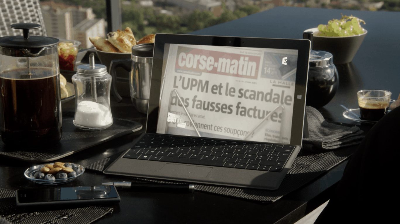 Microsoft surface family event in paris: an interesting discussion with the french surface team - onmsft. Com - june 15, 2017