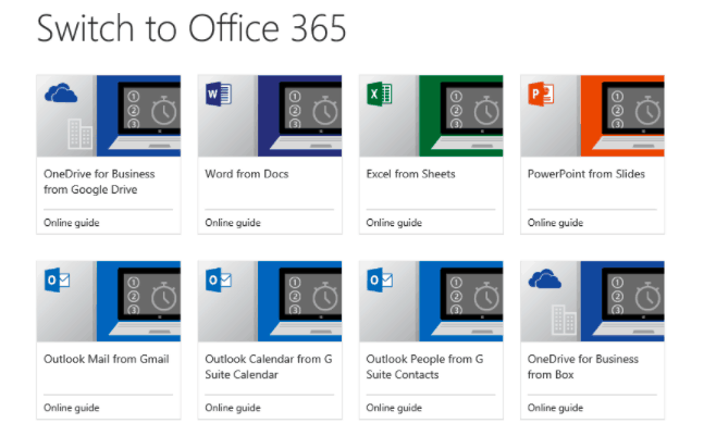 microsoft publishes new guides to make switching from