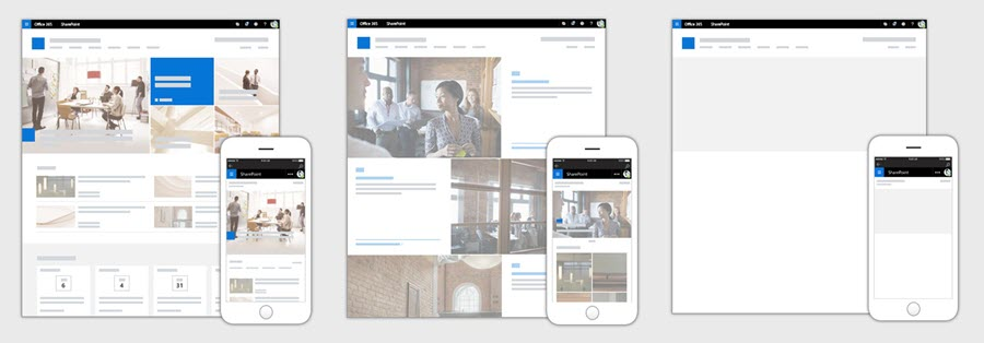 Sharepoint communication sites begin rollout for office 365 first release customers - onmsft. Com - june 27, 2017