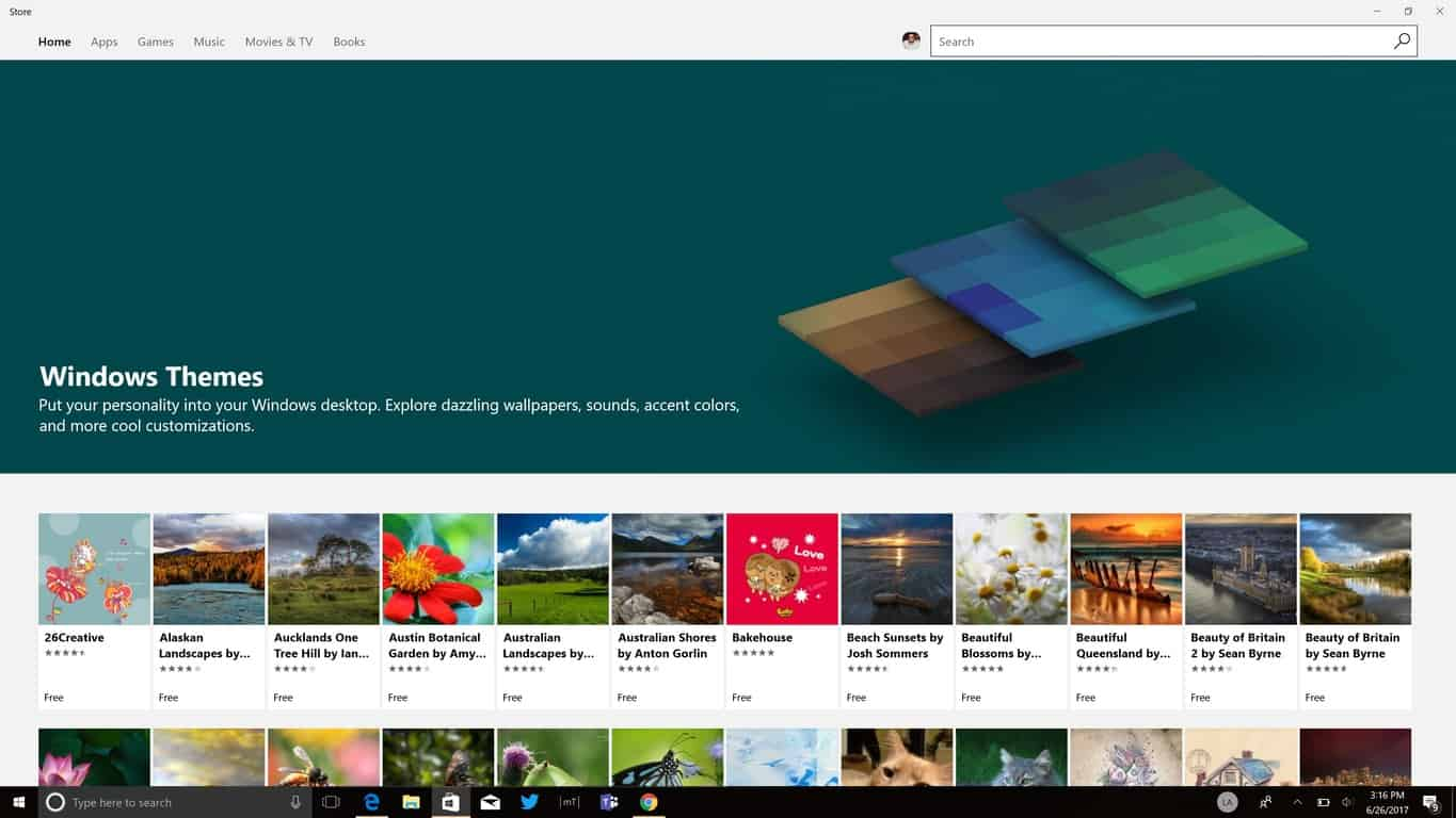 Express Yourself With Free Themes From The Windows Store For Your Windows 10 Pc Onmsft Com