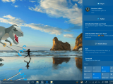 Fluent Design comes to Start and Action Center in Windows 10 Insider Preview Build 16215 OnMSFT.com June 8, 2017