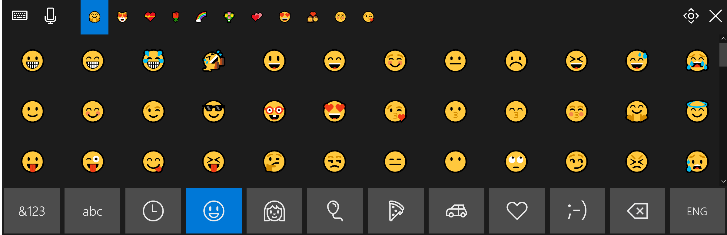 Improved Emojis