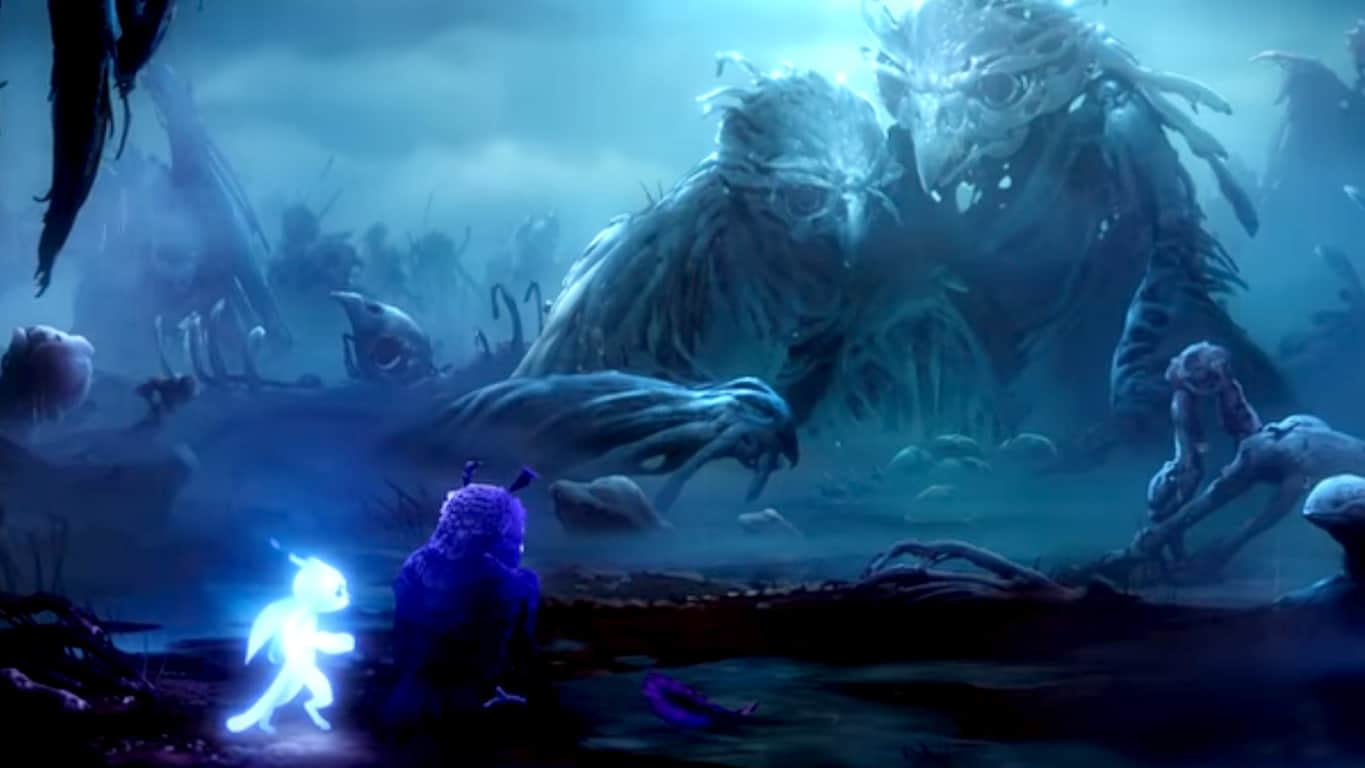 Ori and the Will of the Wisps on Xbox One X