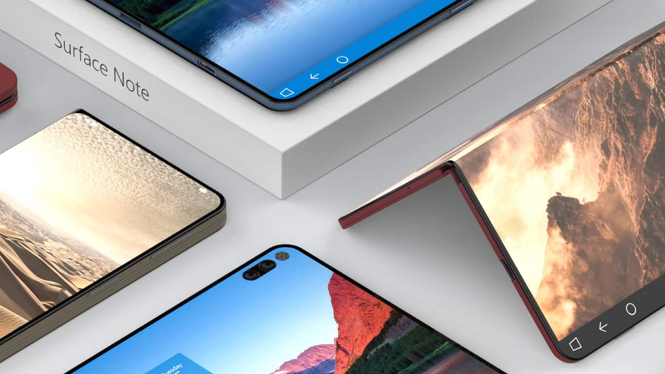 Surface Phone / Surface Note concept