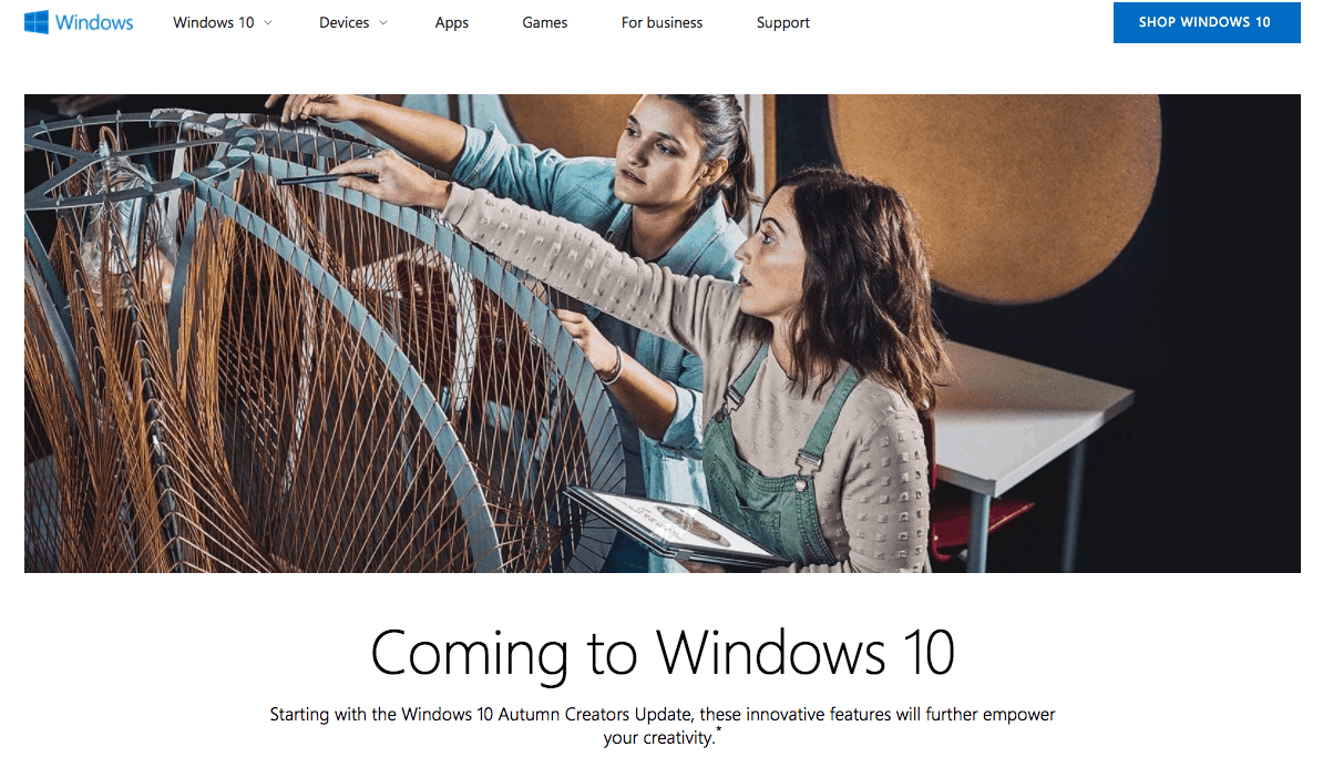"""Next major Windows 10 update to be called """"Autumn Creators Update"""" in the UK and other markets OnMSFT.com July 17, 2017"""
