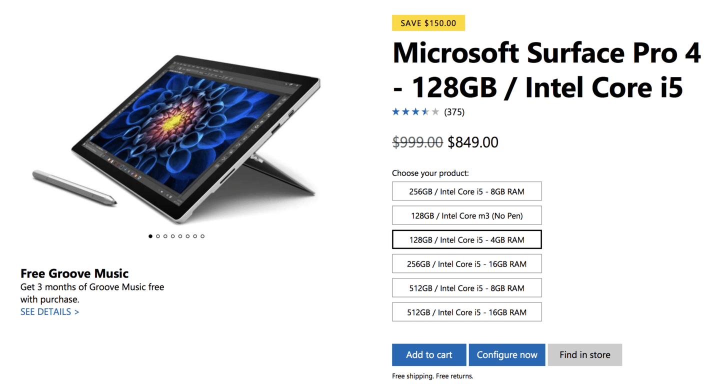 Microsoft kicks off its one day sale with big discounts on surface pro 4, xbox one s, more - onmsft. Com - july 11, 2017