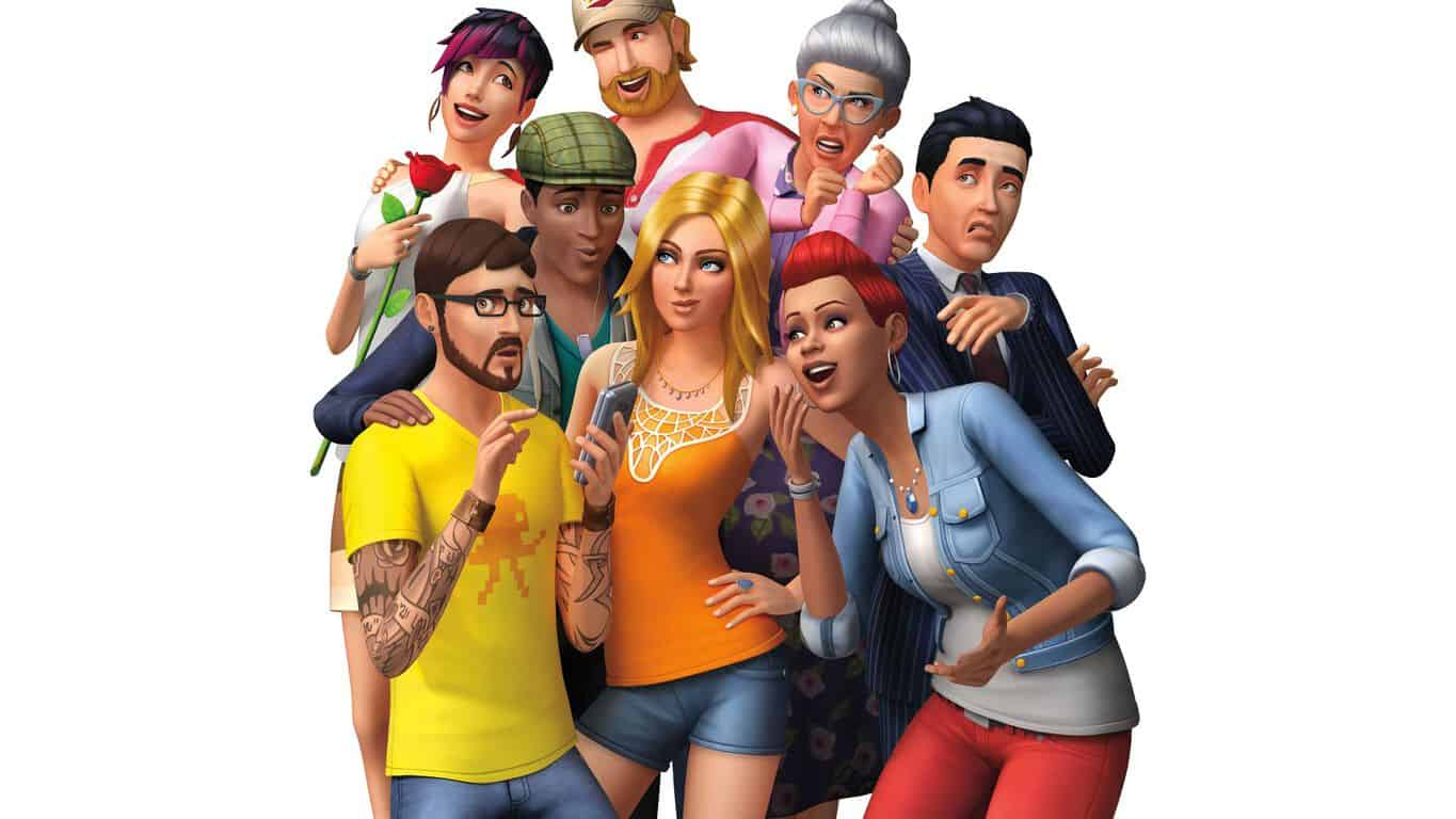 The Sims 4 video game on Xbox One