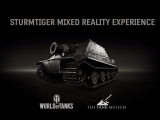 "Using HoloLens, Wargaming shows off the ultra-rare ""SturmTiger"" at TankFest 2017 OnMSFT.com July 11, 2017"