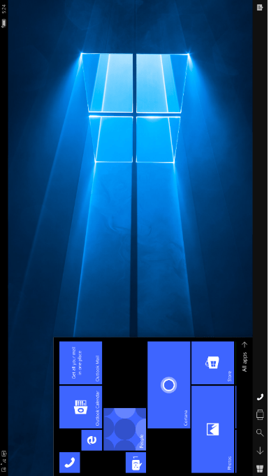 """Windows 10 mobile insider build 15235 brings continuum improvements, skips support for new """"link your phone"""" feature - onmsft. Com - july 26, 2017"""