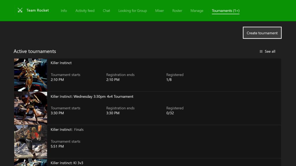 Arena on Xbox One