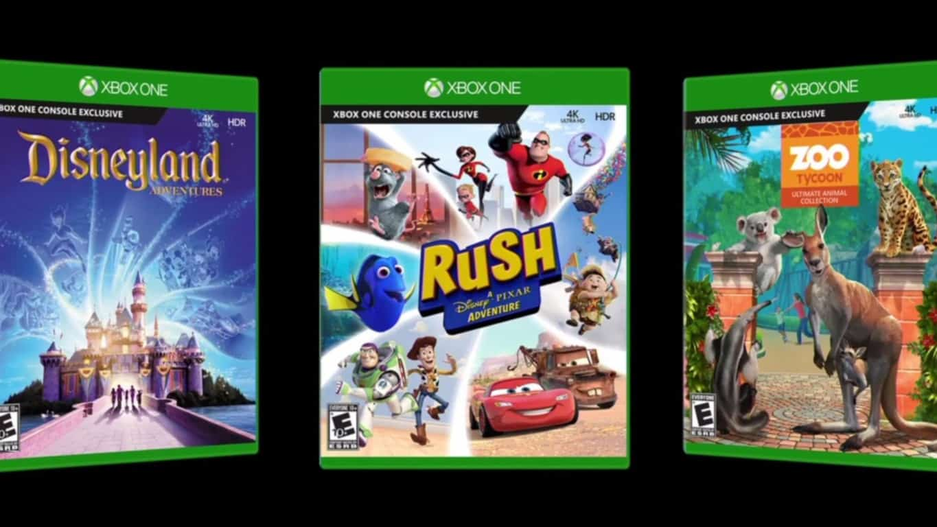 Xbox One Kinect Video Games